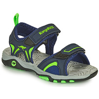 Zapatos Niño Sandalias Kangaroos K-MONT Azul / Verde