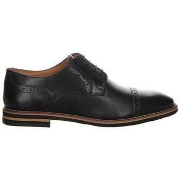 Zapatos Hombre Derbie Salamander Vasco Flats Black