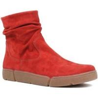 Zapatos Mujer Botas de caña baja Ara Om St Alto Suave Red
