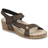 Zapatos Mujer Sandalias Spot on F10716 Marrón