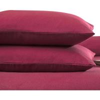 Casa Funda de almohada, cojín Belledorm BM306 Rojo