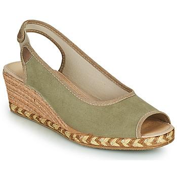 Zapatos Mujer Alpargatas Damart 43775 Kaki