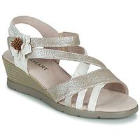 Zapatos Mujer Sandalias Damart 61170 Plata