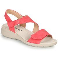 Zapatos Mujer Sandalias Damart 67808 Rojo