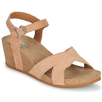Zapatos Mujer Sandalias Bullboxer 502000E2C Beige