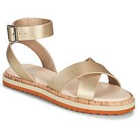 Zapatos Mujer Sandalias Bullboxer 053001F1S Oro
