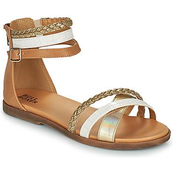 Zapatos Niña Sandalias Bullboxer ALM013F1S-GOLD Marrón