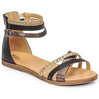 Zapatos Niña Sandalias Bullboxer ALM013F1S-ROSE Negro