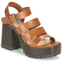 Zapatos Mujer Sandalias Emmshu DITA Cognac