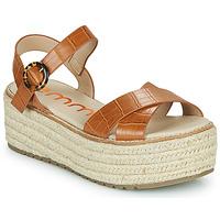 Zapatos Mujer Sandalias Emmshu NESA Cognac