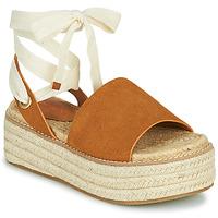 Zapatos Mujer Sandalias Emmshu SEARA Cognac