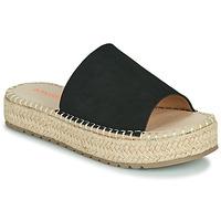 Zapatos Mujer Zuecos (Mules) Emmshu TAMIE Negro