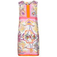 textil Mujer Vestidos cortos Derhy SEOUL Rosa / Multicolor