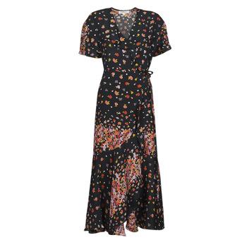textil Mujer Vestidos largos Derhy SUEDE Negro / Multicolor