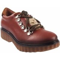 Zapatos Mujer Derbie Csy Zapato señora CO & SO pach253 cuero Marrón