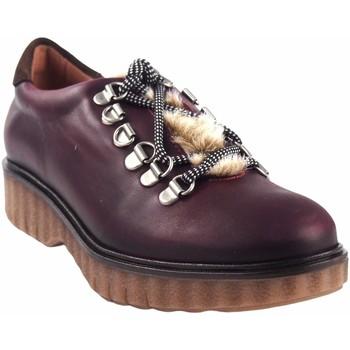 Zapatos Mujer Derbie Csy Zapato señora CO & SO pach253 burdeos Rojo