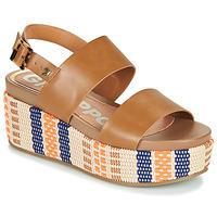 Zapatos Mujer Sandalias Gioseppo COWLEY Cognac