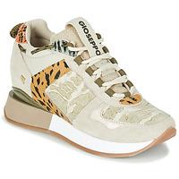 Zapatos Mujer Zapatillas bajas Gioseppo PATERSON Beige / Kaki
