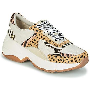 Zapatos Mujer Zapatillas bajas Gioseppo FORMIA Blanco / Leopardo