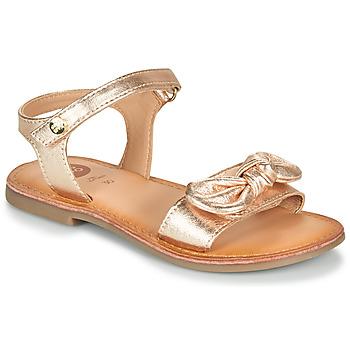 Zapatos Niña Sandalias Gioseppo CLEBER Rosa / Gold