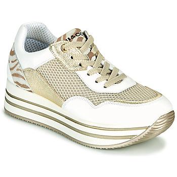 Zapatos Mujer Zapatillas bajas IgI&CO ALMINTA Blanco / Oro