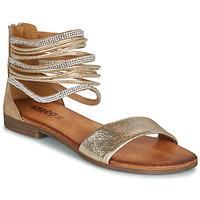 Zapatos Mujer Sandalias IgI&CO BRONIA Oro / Cognac