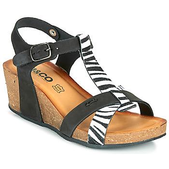 Zapatos Mujer Sandalias IgI&CO JOULIA Negro / Blanco