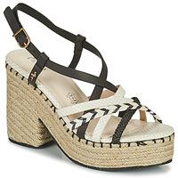 Zapatos Mujer Sandalias Menbur BALMUCCIA Negro / Blanco