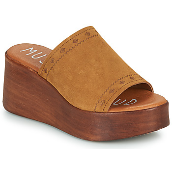 Zapatos Mujer Zuecos (Mules) Musse & Cloud MANA Cognac
