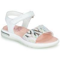 Zapatos Niña Sandalias Pablosky CAMMI Blanco / Multiple