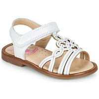 Zapatos Niña Sandalias Pablosky MARIE Blanco
