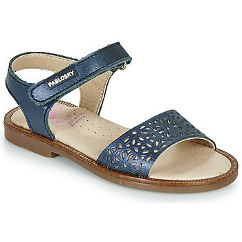 Zapatos Niña Sandalias Pablosky LILLA Marino