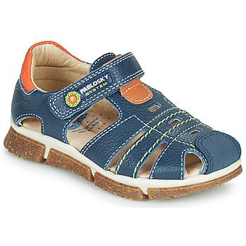 Zapatos Niño Sandalias Pablosky REAL Marino