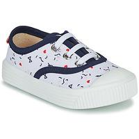 Zapatos Niños Zapatillas bajas Citrouille et Compagnie MY LOVELY TRAINERS Blanco / Estampado