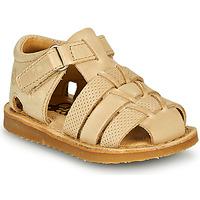 Zapatos Niño Sandalias Citrouille et Compagnie MISTIGRI Beige