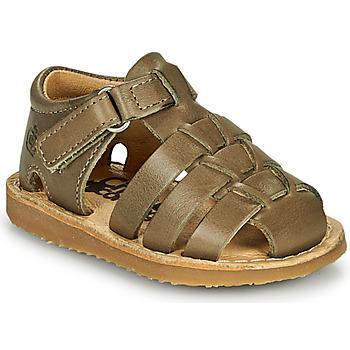 Zapatos Niño Sandalias Citrouille et Compagnie MISTIGRI Kaki