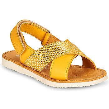 Zapatos Niña Sandalias Citrouille et Compagnie OVETTE Amarillo