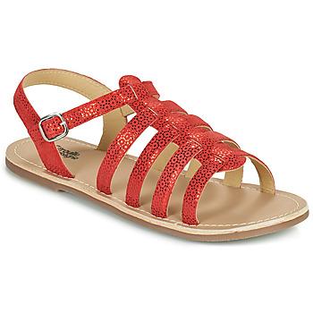 Zapatos Niña Sandalias Citrouille et Compagnie MAYANA Rojo