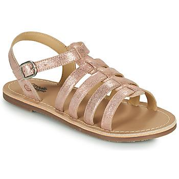 Zapatos Niña Sandalias Citrouille et Compagnie MAYANA Rosa / Dorado