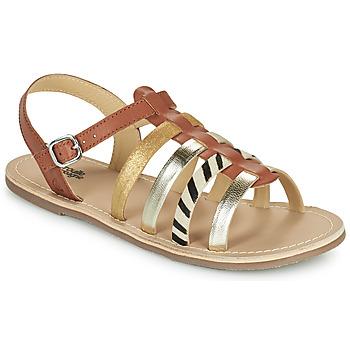 Zapatos Niña Sandalias Citrouille et Compagnie MAYANA Tan