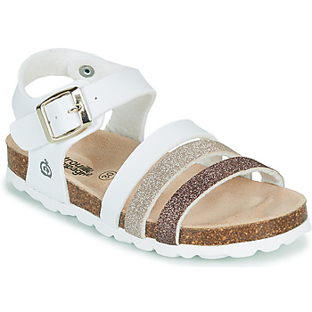 Zapatos Niña Sandalias Citrouille et Compagnie OMAYA Blanco
