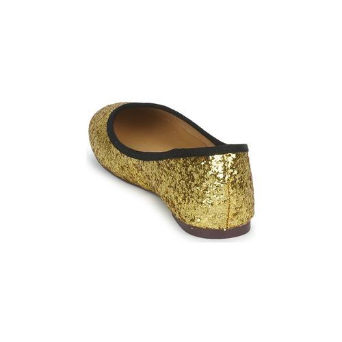 Zapatos Friisamp; Mujer manoletinas Perla Dorado Bailarinas Company OPwuTkXZi