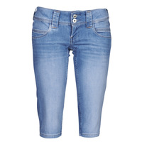 textil Mujer Pantalones cortos Pepe jeans VENUS CROP Azul