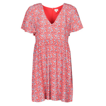 textil Mujer Vestidos cortos Pepe jeans CAROLINA Rojo / Azul