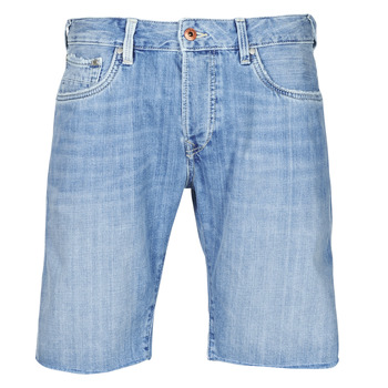 textil Hombre Shorts / Bermudas Pepe jeans STANLEU SHORT BRIT Azul / Claro