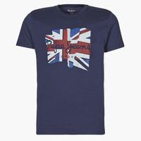 textil Hombre Camisetas manga corta Pepe jeans DONALD Marino