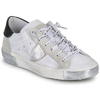 Zapatos Mujer Zapatillas bajas Philippe Model PARIS Blanco