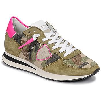 Zapatos Mujer Zapatillas bajas Philippe Model TROPEZ X Camuflaje