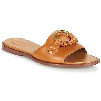 Zapatos Mujer Zuecos (Mules) See by Chloé HANA SB3305 Cognac