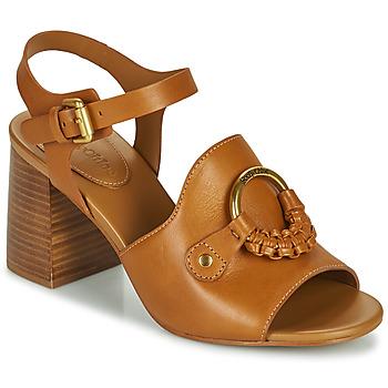 Zapatos Mujer Sandalias See by Chloé HANA SB3406 Cognac